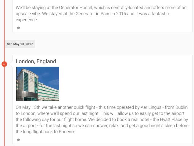 UK & Ireland Itinerary