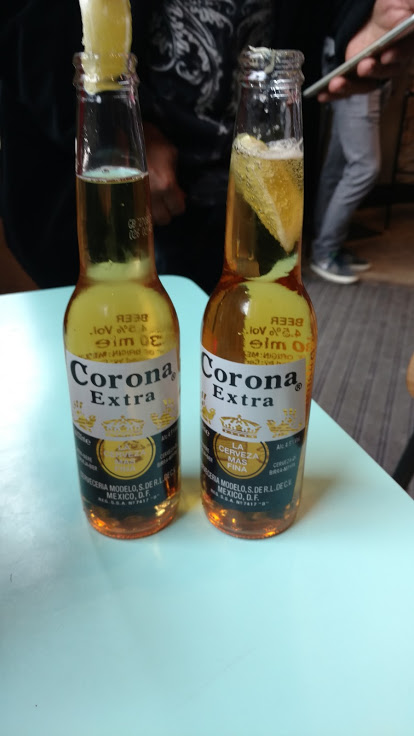 Coronas at Chilango's