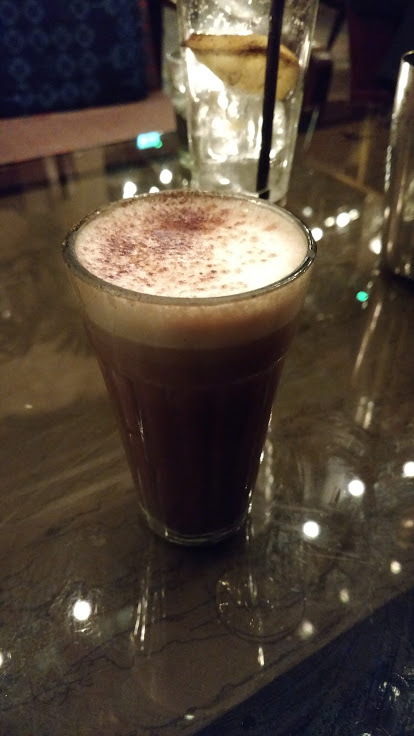 Alcoholic Hot Chocolate at Dishoom