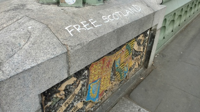 Free Scotland Graffiti