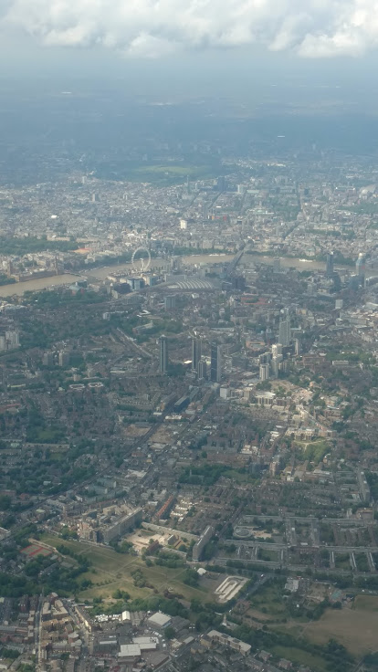 Birdseye View of London