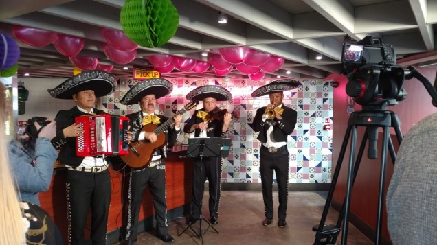 Mariachi Band at Chilango's