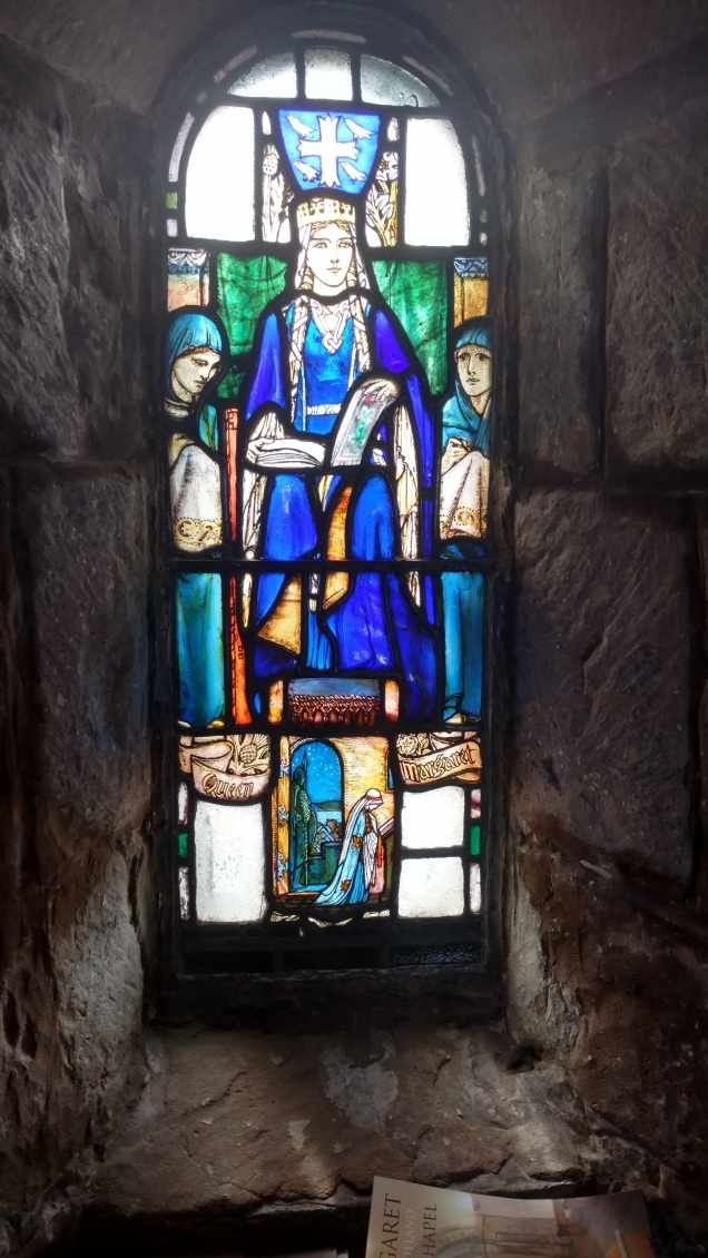 Stained Glass Window at Edinburgh Castle
