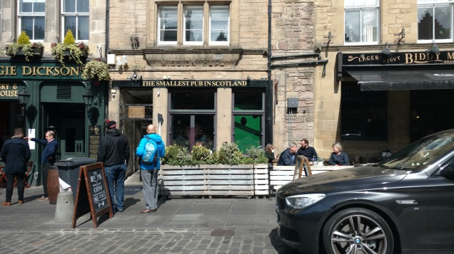 Smallest Pub in Scotland